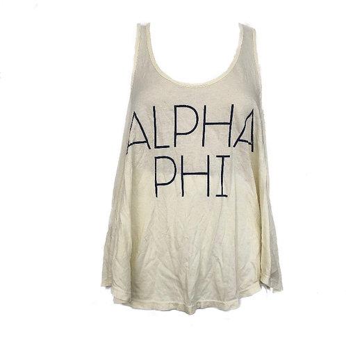 Alpha Phi Sorority Tank