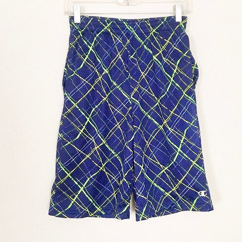 Champion Boys Blue Print Gym Short