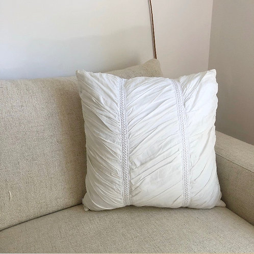 Anthology White Decorative Pillow