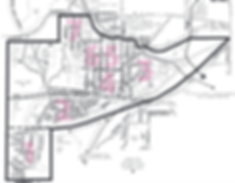 Bryn Mawr Neighborhood Map Areas