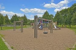 Playground in Bryn Mawr neighborhood in Minneapolis
