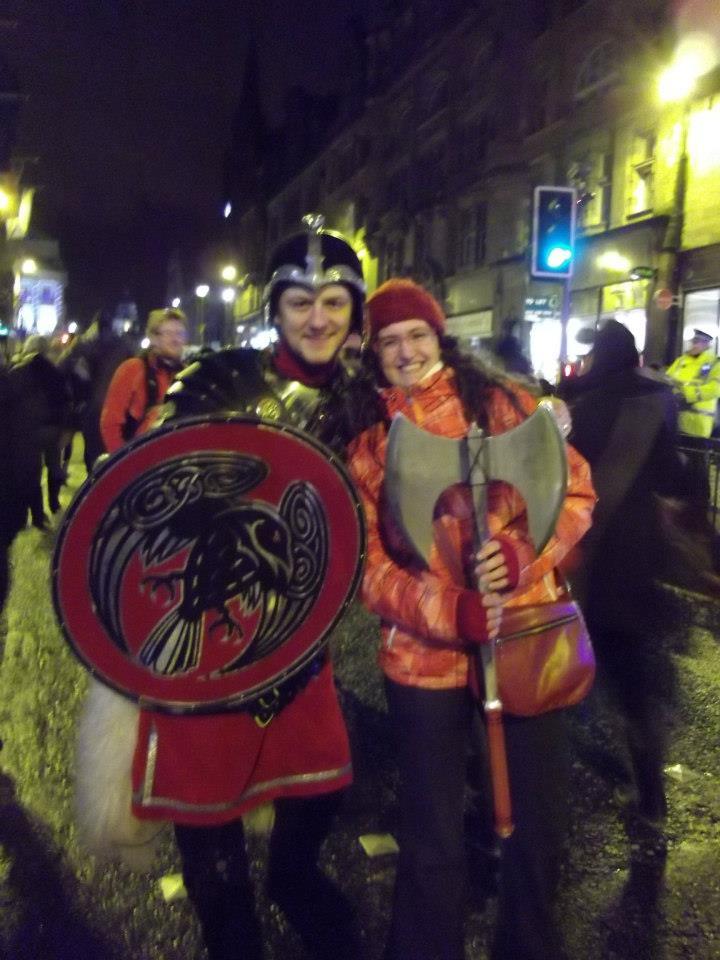 Hogmanay, torchlight procession, Viking, Edinburgh