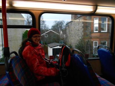 Edinburgh bus, hat