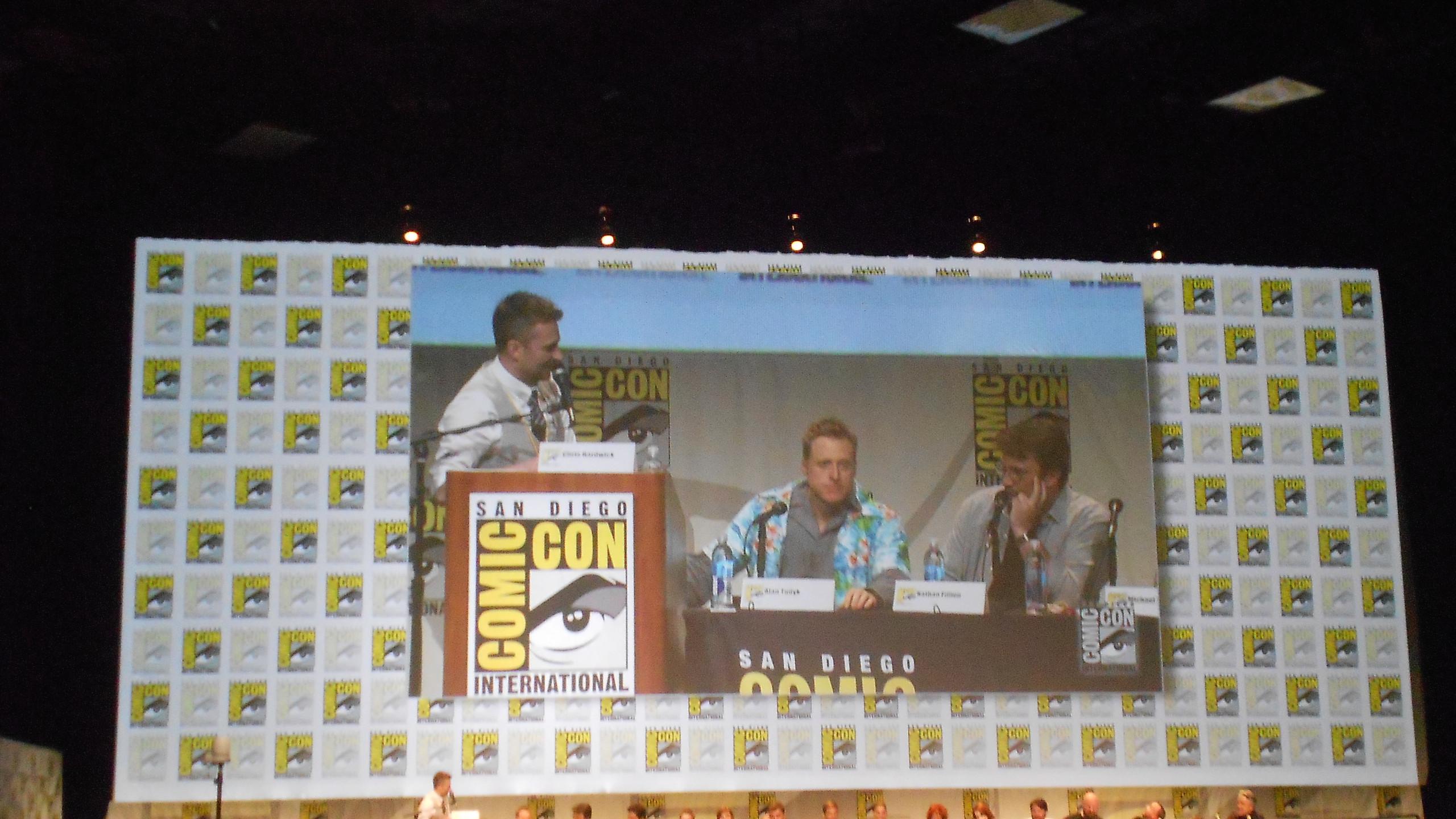 San Diego, Comic-Con, convention, SDCC, Con Man, Alan Tudyk, Nathan Fillion