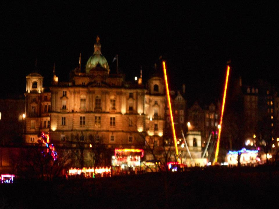 bungee, Edinburgh, Scotland, Hogmanay, New Year's
