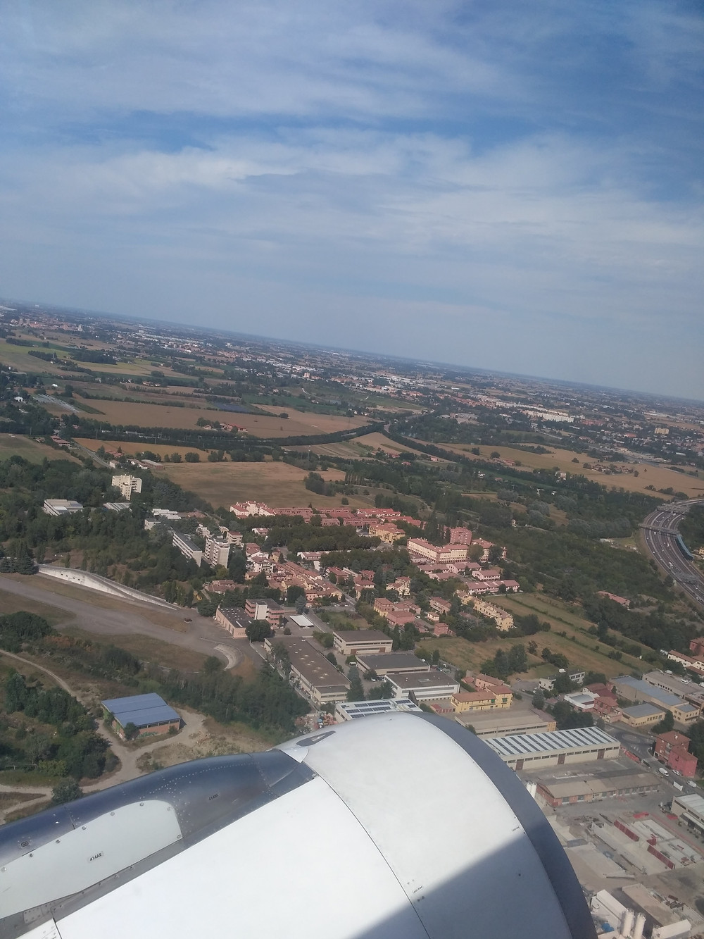 View from Air Europa flight to Europe