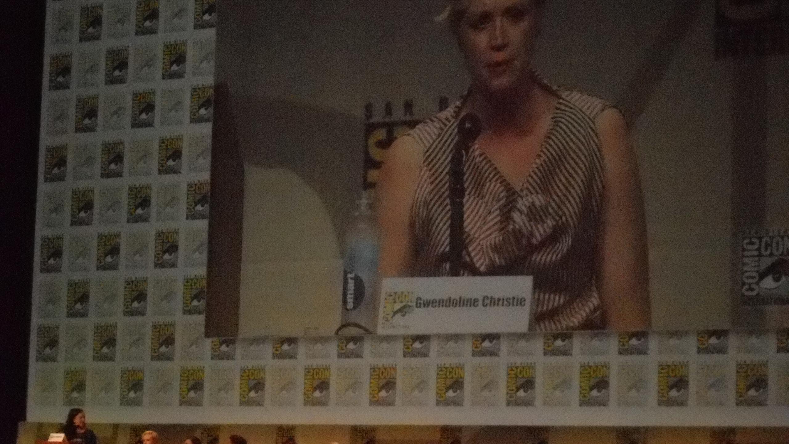 San Diego, Comic-Con, convention, SDCC, Gwendoline Christie