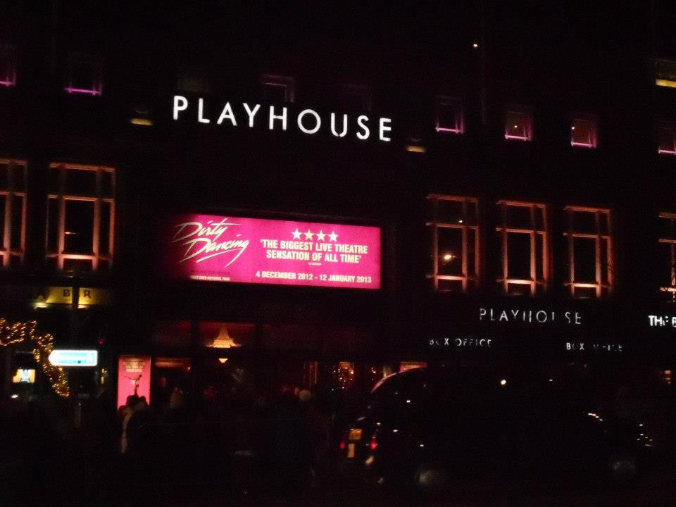 Edinburgh Playhouse, Dirty Dancing, theater, theatre