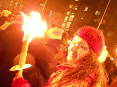 Hogmanay, Mariel, torch. torchligh procession, Edinburgh