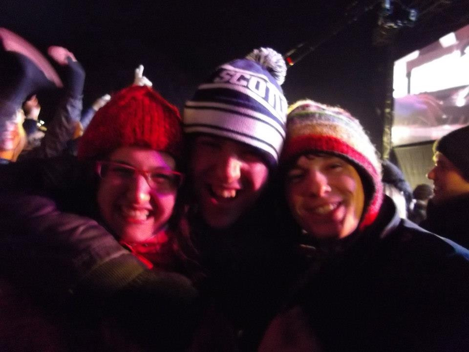 New Year, Hogmanay, Concert in the Gardens