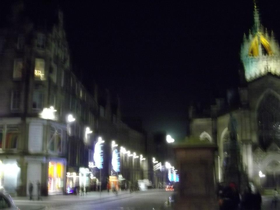St. Giles, Edimburgo, Royal Mile