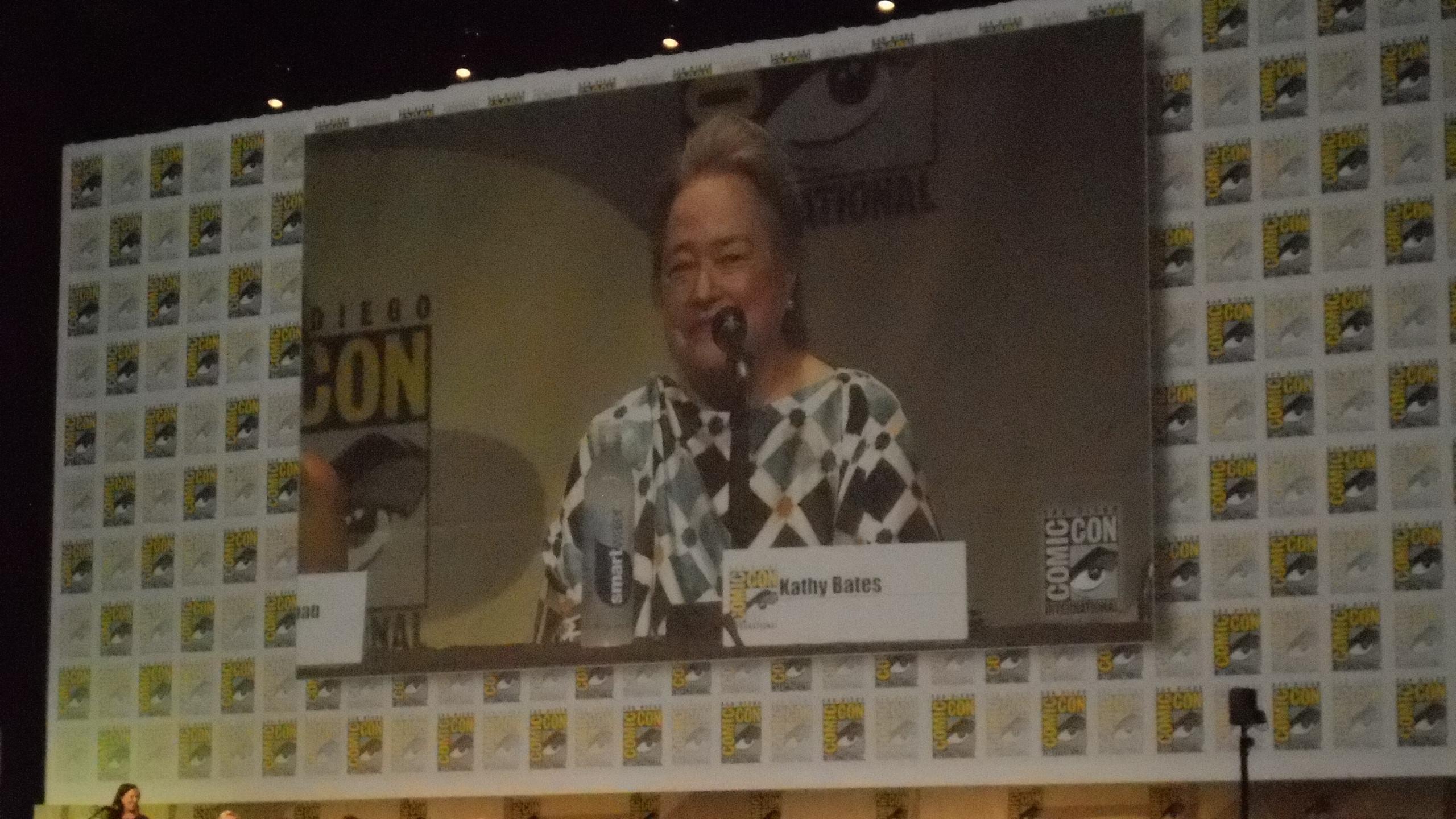 San Diego, Comic-Con, convention, SDCC, Kathy Bates