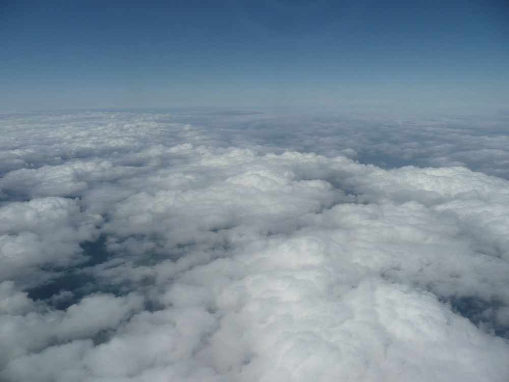 flying, sky, clouds