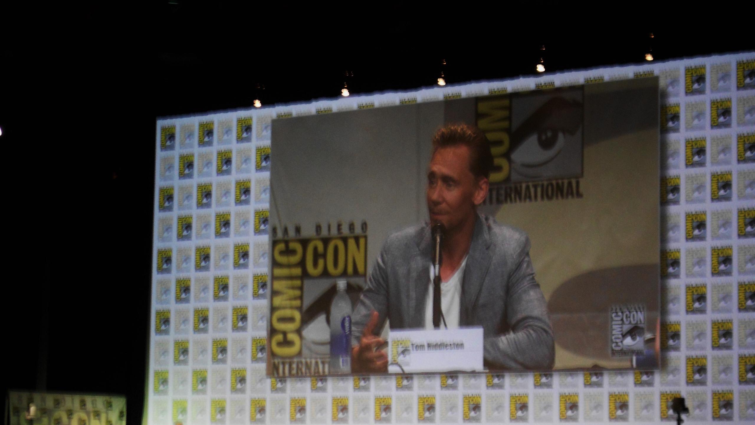 San Diego, Comic-Con, convention, SDCC, Tom Hiddleston