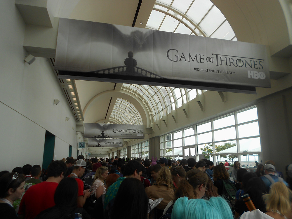 San Diego, Comic-Con, lines, Game of Thrones, SDCC, convention