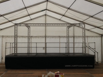 Stage for hire - JAM Stage Hire