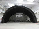 Large Black PVC Stage for hire - JAM Stage Hire