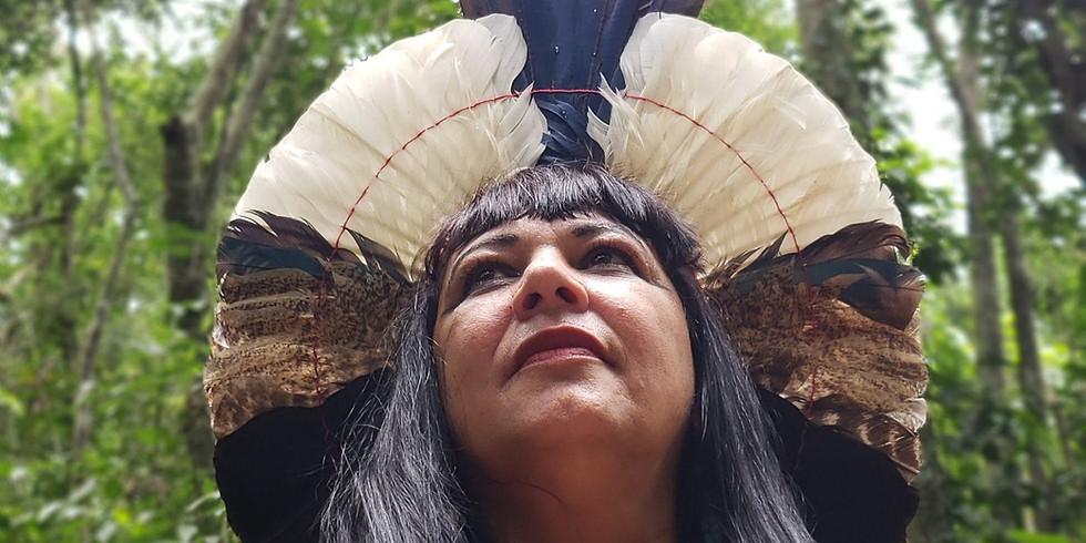 Ritual de Jurema Sagrada com nativa Alma Kasury
