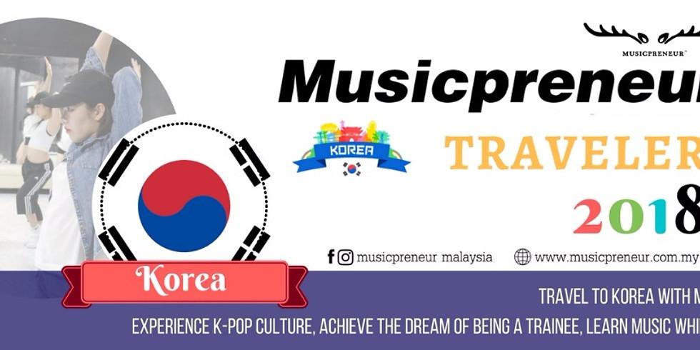 音乐活动_Musicpreneur 环游音乐界 - 韩国站 2018