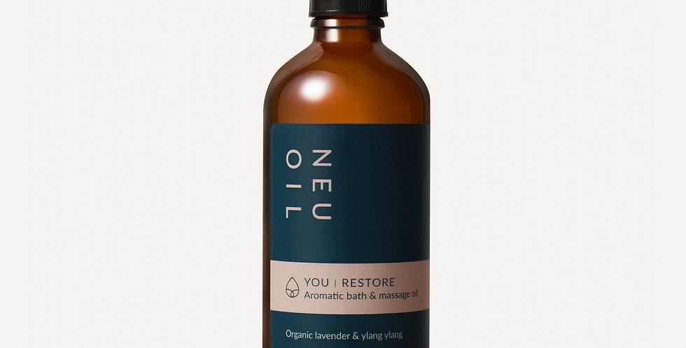 YOU RESTORE: Bath and body oil
