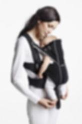 Porte-bébé à assise étroite