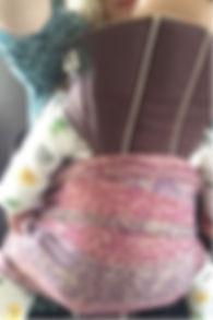 Porte-bébé à assise étroite sécuritaire