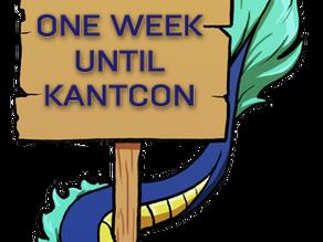 One Week Until KantCon!