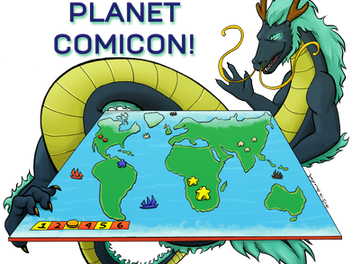 Come Play with Us as Planet Comicon!