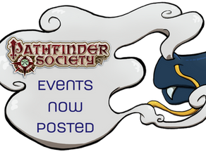 PFS Events Up NOW!