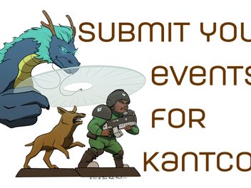 Register your Events for KantCon!