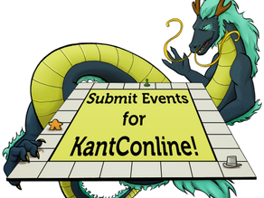 Submit Events for KantConline!