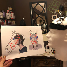 Equus Headpiece design