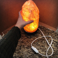 Foam Salt Lamp