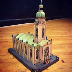 Church Model (assembled)