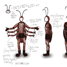 Cockroach Costume design