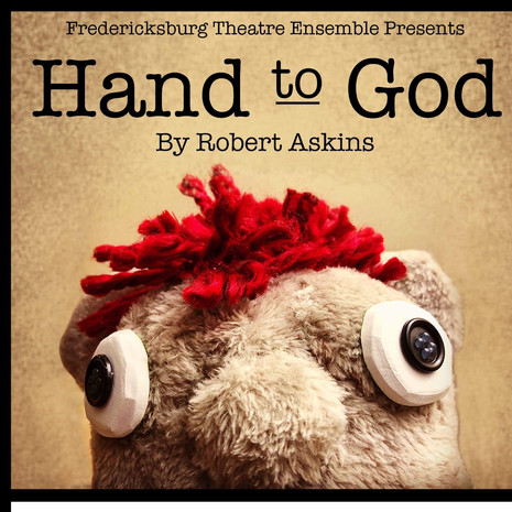 Hand to God promo poster