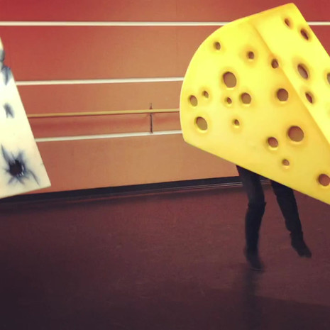 Dancing Cheeses test fit