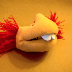 Puppet Snout Mask (embellished)