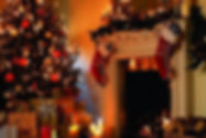 Christmas Tree and Fireplace wallpaper4.