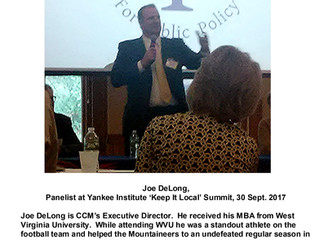 """Connie Visits The Yankee Institute's """"Keep It Local Summit"""""""