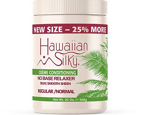 HAWAIIN SILKY CREME CONDITIONER NO-BASE RELAXER20 OZ -REG/NORMAL
