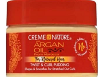 CREME OF NATURE ARGAN CURL PUDDING