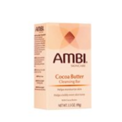 AMBI SOAP COCOA BUTTER CLEANSING BAR 3.5 OZ