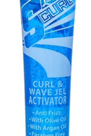 S-CURL LT WAVE JEL & ACTIVATOR 6 OZ TUBE