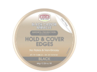 AFRICAN PRIDE GROWTH PROTECTION BLACK CASTOR HOLD & COVER EDGES 2.25 OZ