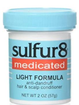 SULFUR-8 HAIR/SCALP LIGHT 2 0Z