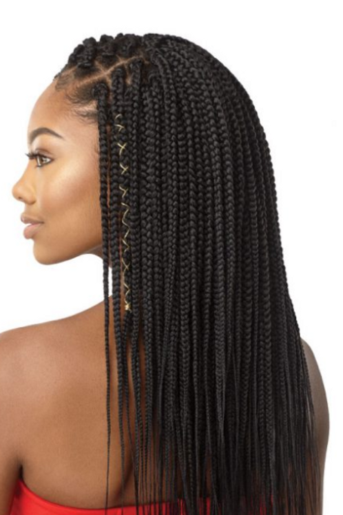 X-pression 90 Strands Box Braids 14""
