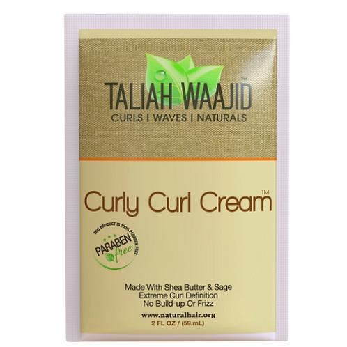 TALIAH WAAJID CURLS/WAVES /NATURAL CURLY CURL CREAM 2 OZ PACK