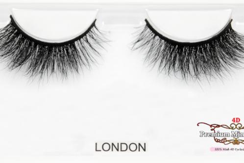 4D Mink Lashes-London