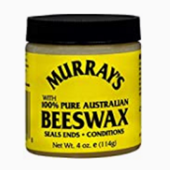 MURRAY'S 100% PURE AUSTRALIAN BEES WAX  EDGE WAX 4 OZ